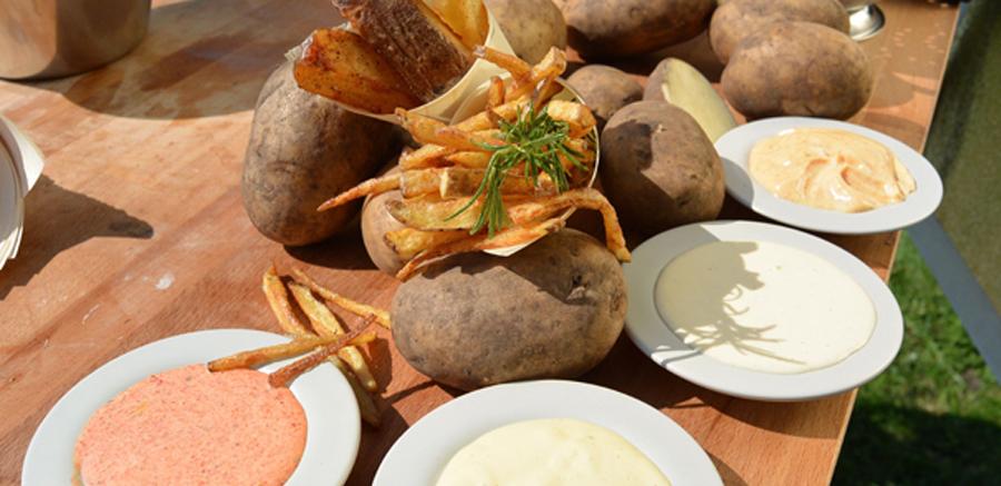 Hele dunne èn dikke ultra crispy frieten & mayonaise